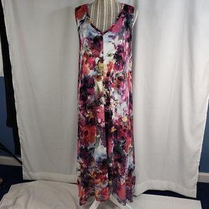 Simply Vera NWOT Floral Sleeveless Dress XLarge